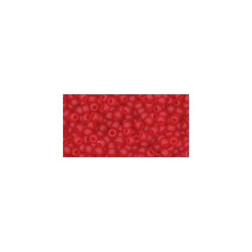 TOHO Transparent-Frosted Siam Ruby 11/0 10g.