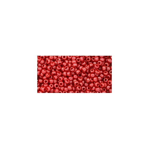 TOHO Opaque-Lustered Cherry 11/0 10g.