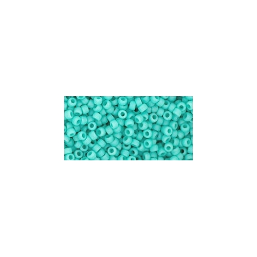 TOHO Opaque-Frosted Turquoise 11/0 10g.