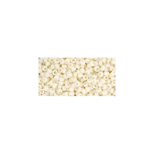 TOHO Opaque-Frosted Lt Beige 11/0 10g.
