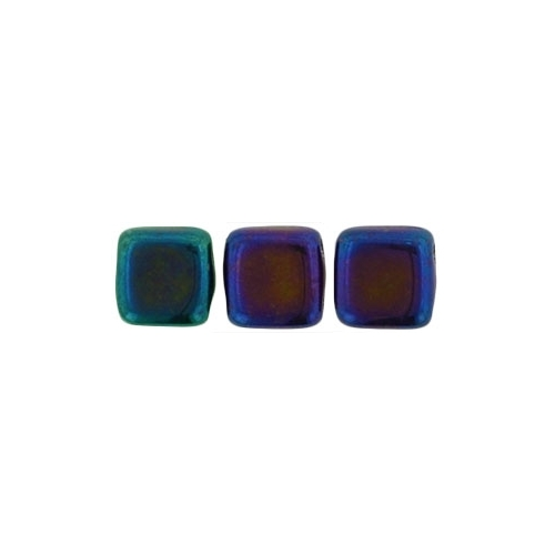 Tile Iris - Blue, 6mm (40pcs)