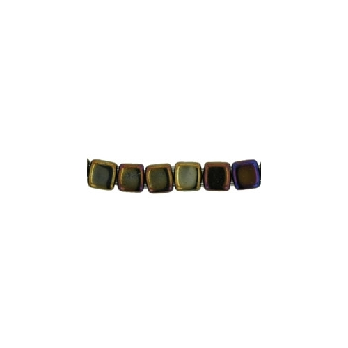 Tile Iris - Brown 6mm (40pcs)