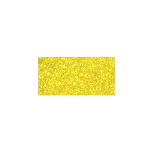 TOHO Transparent Lemon 11/0 10g.