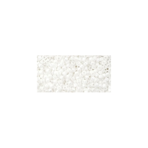 TOHO Treasure Opaque-Lustered White 11/0 5g.
