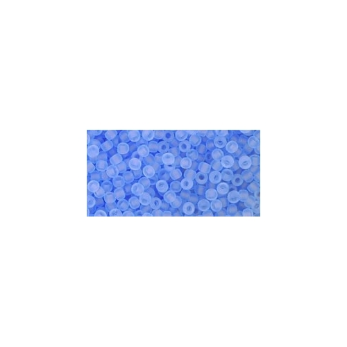 TOHO Transparent-Frosted Sapphire 11/0 10g.