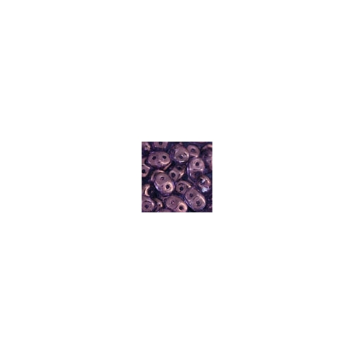Superduo 2.5x5mm Luster - Transparent Amethyst 10g.