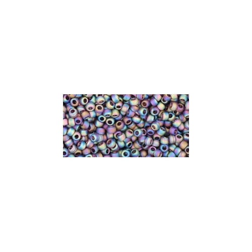 TOHO Trans-Rainbow-Frosted Amethyst 11/0 10g.
