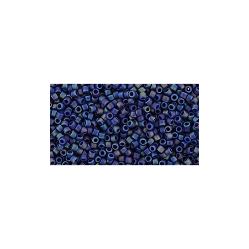 TOHO Semi Glazed Rainbow Navy Blue 15/0 5g.