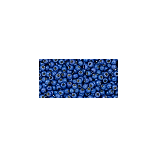 TOHO Permafinish - Matte Galvanized Denim Blue 11/0, 10g