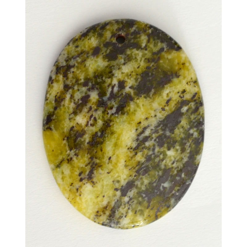 Grass yellow Turquoise Pendant Bead
