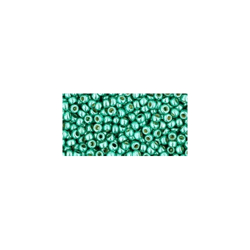 TOHO PermaFinish - Galvanized Green Teal 11/0, 10g.