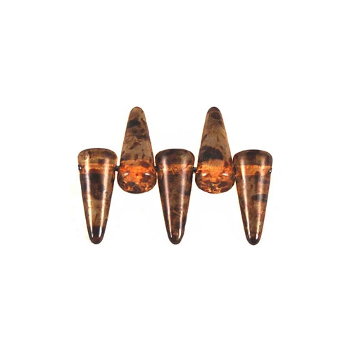 Spikes 4/10mm Crystal - Picasso 10pcs