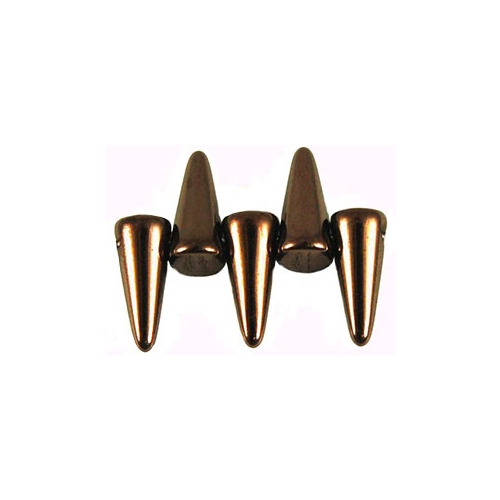 Spikes 4/10mm Dark Bronze 10pcs.