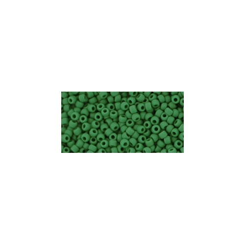 TOHO Opaque-Frosted Pine Green 11/0 10g