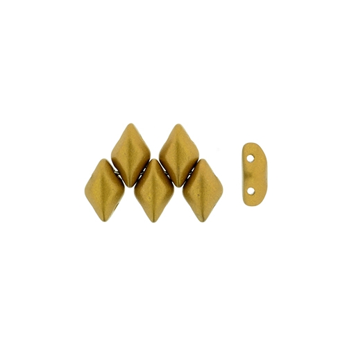 Gemduo Matte - Metallic Antique Gold, 3pcs.