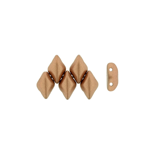 Gemduo Matte - Metallic Copper, 33pcs.