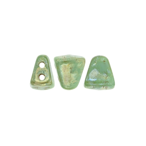 NIT-BIT Green Turquoise - Silver Picasso